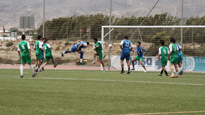 La selección de fútbol-11 masculino de la UAL se proclamó campeona de Andalucia en las ediciones de 2014 y 2015.
