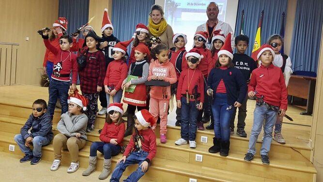 El Hospital de La Inmaculada organiza actividades para felicitar la Navidad