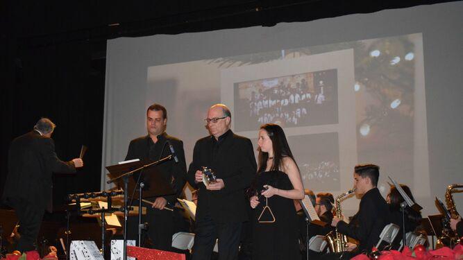 Exitoso concierto navideño de  la Banda de la Asociación Níjar