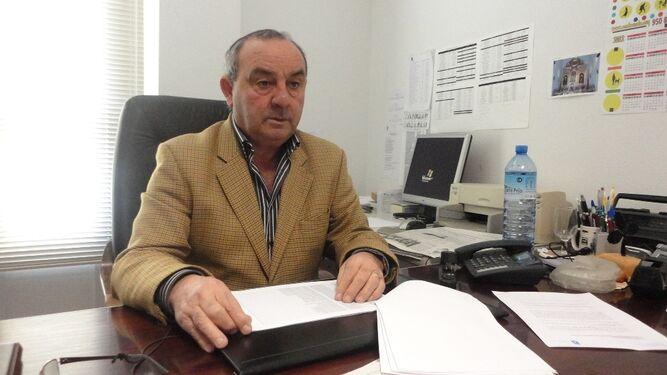 Pedro Antonio López, concejal de Hacienda del Ayuntamiento de Roquetas de Mar.