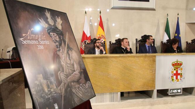La Semana Santa ya tiene su cartel, una pintura del Señor de Coronación