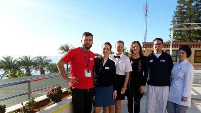 Imagen de los participantes en el Programa Up by Senator Hotels & Resorts.