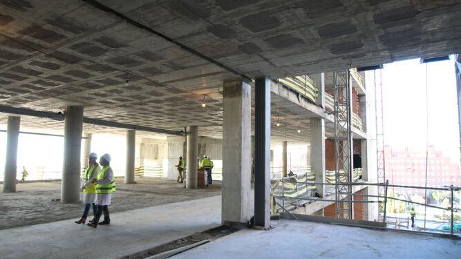 El interior de una de las plantas del edificio.