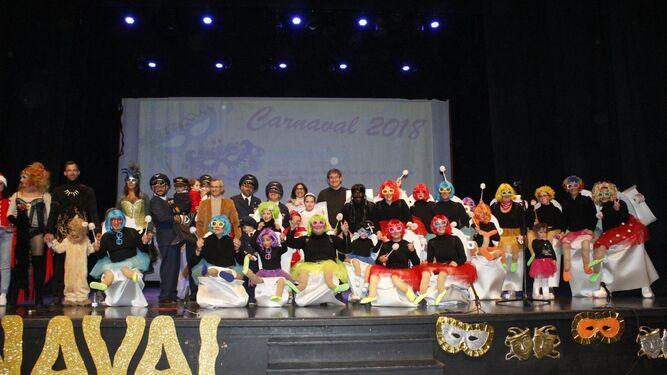 El sábado tuvo lugar la gala de entrega de premios a los mejores disfraces.