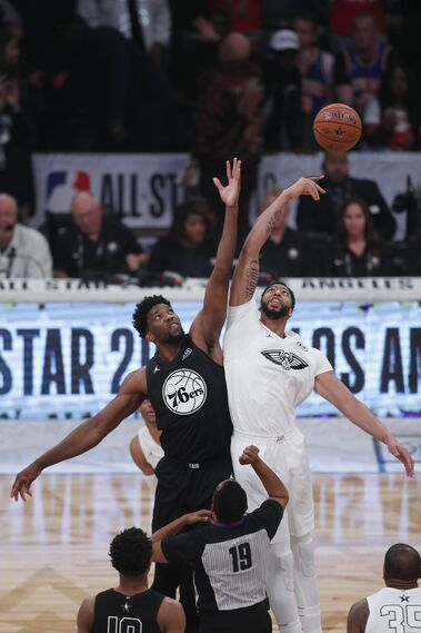 El partido del All-Star de la NBA, en imágenes