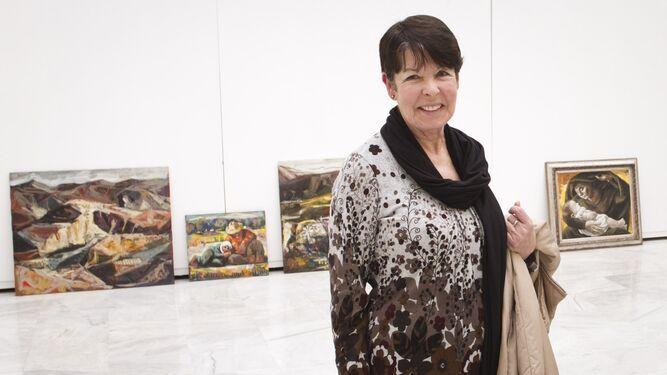 Carmen Pinteño es una de las grandes pintoras almerienses que lleva una trayectoria fascinante.