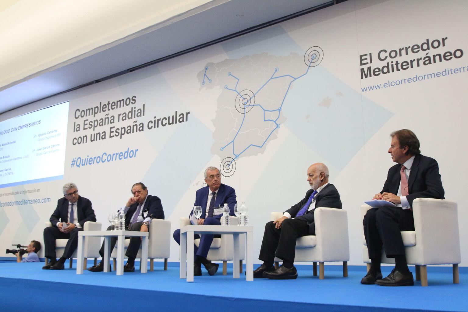 El sector Sur del Corredor Mediterráneo se cita en Almería