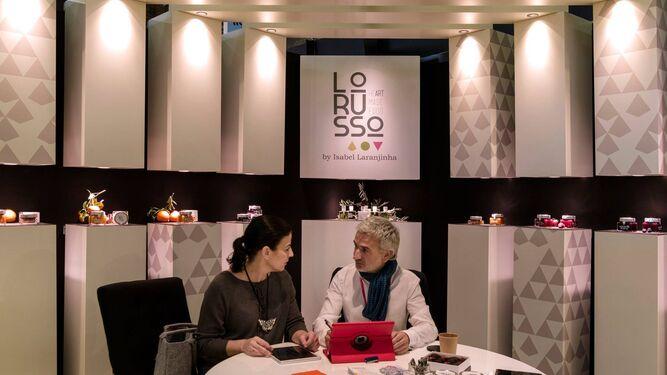 Paticipación de Lorusso el pasado enero en la Maison&Objet París donde mostró sus 'productos joya'.