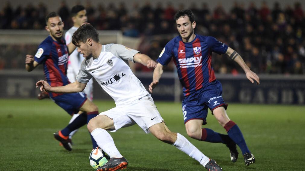 Las imágenes del Huesca-Almería