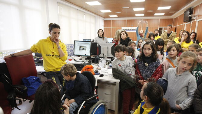 Visita del colegio Diego Velázquez de Albox