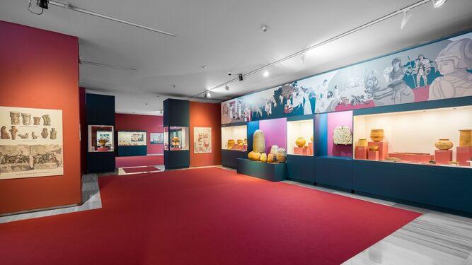 Exposición 'Dioses, tumbas y gentes. Baria, ciudad fenicia' que se puede ver en el Museo de Almería.