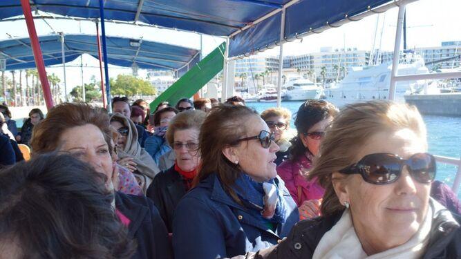 Instantánea del grupo de participantes en el viaje a Alicante.