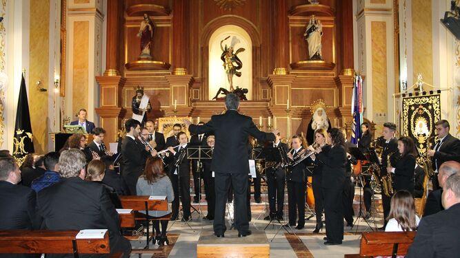 La Banda Municipal de Pulpí puso las notas musicales.