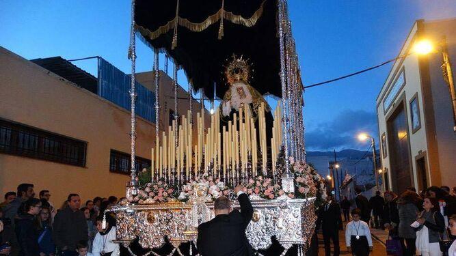 Nuestra Señora de los Dolores, por Santa María del Águila.