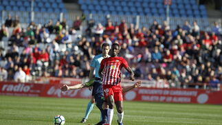 El UD Almería-Sporting de Gijón, en imágenes