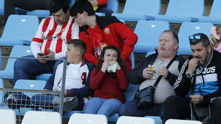 Las imágenes del partido UD Almería - Sporting de Gijón
