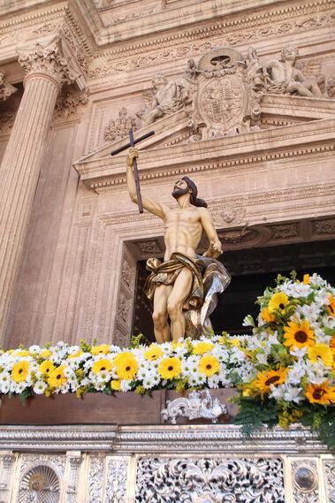 Las imágenes de la procesión del Resucitado en Almería