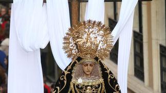 Las imágenes de la procesión de las Angustias