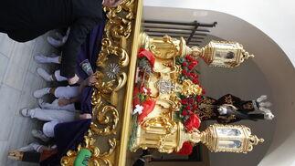 Las imágenes de la procesión del Encuentro