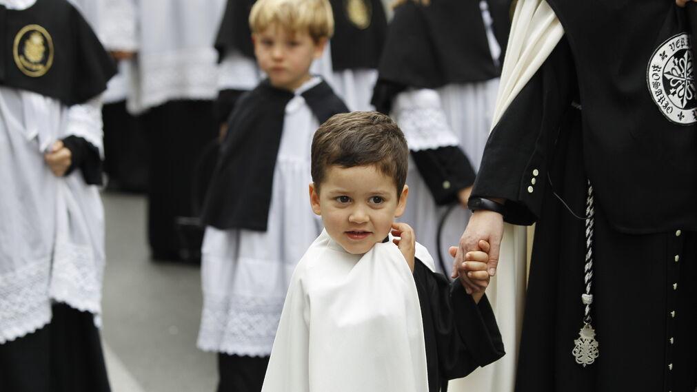 Las imágenes de la procesión del Rosario del Mar