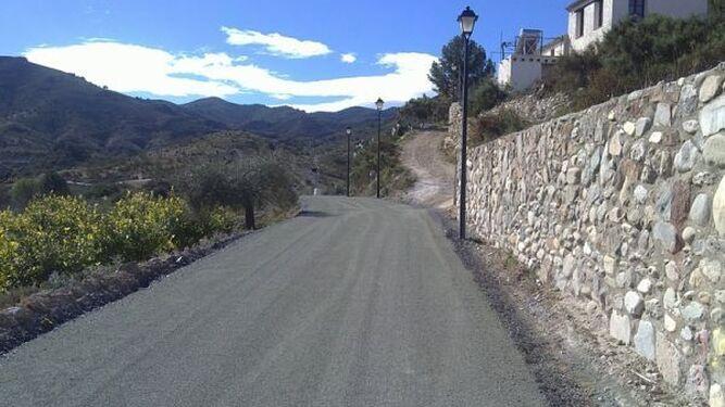 Los caminos rurales de Cantoria son ejes vertebradores para los distintos núcleos de población así como para los agricultores de la localidad.