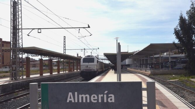 El futuro de la estación del tren de Almería