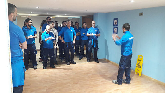 El grupo hotelero sigue apostando por la actualización de la formación de sus trabajadores para ofrecer el mejor servicio.