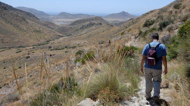 Otra de las rutas de este programa pasó por El Cerro.