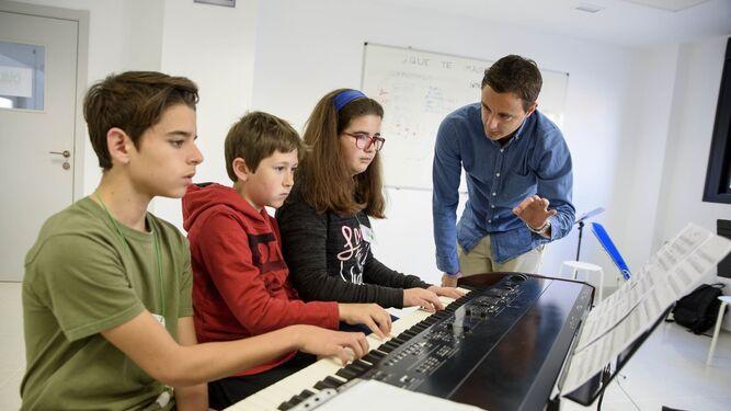 La Orquesta Infantil de Almería vive un fin de semana repleto de música