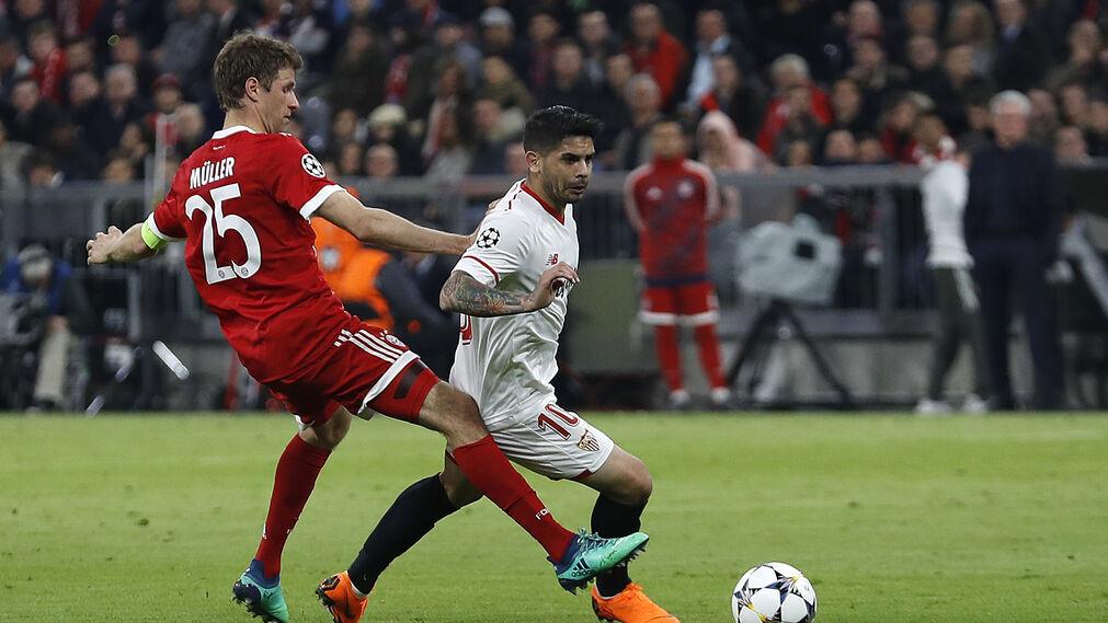 El Bayern Múnich-Sevilla FC, en imágenes