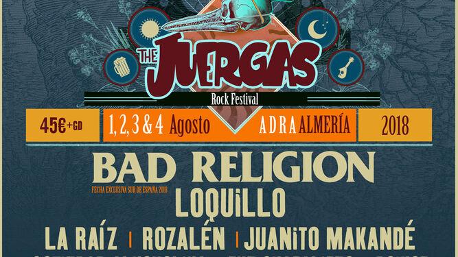 Rozalén y Boikot cierran el cartel de la VI edición de The Juergas Rock Festival