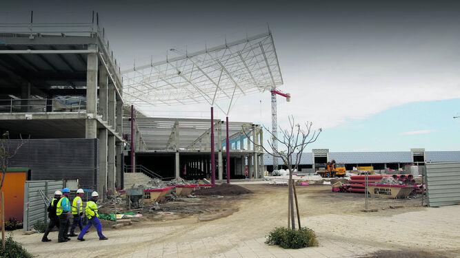 Las obras en Torrecárdenas se encuentran muy avanzadas.