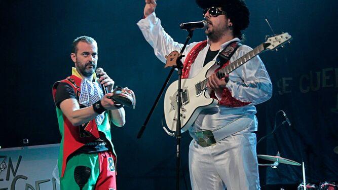 Integrantes del grupo durante una de las actuaciones.