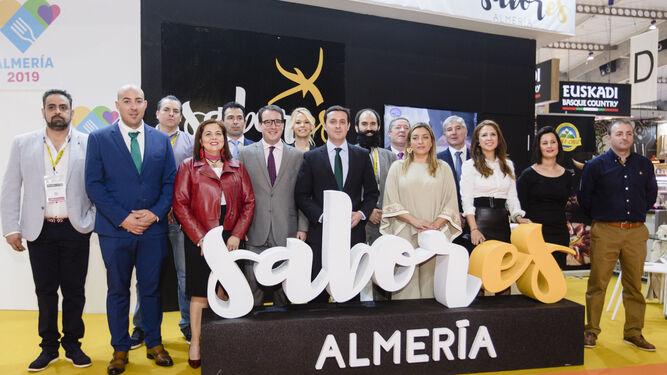 La Diputación Provincial arropa a las firmas almerienses que han acudido a la Feria Alimentaria de Barcelona.