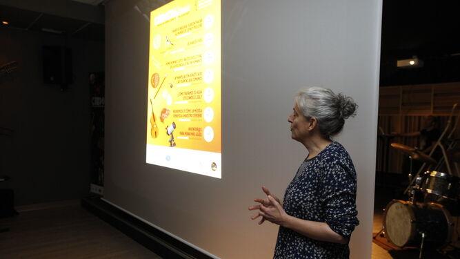 La investigadora del Observatorio de Calar Alto, Ana Guijarro.