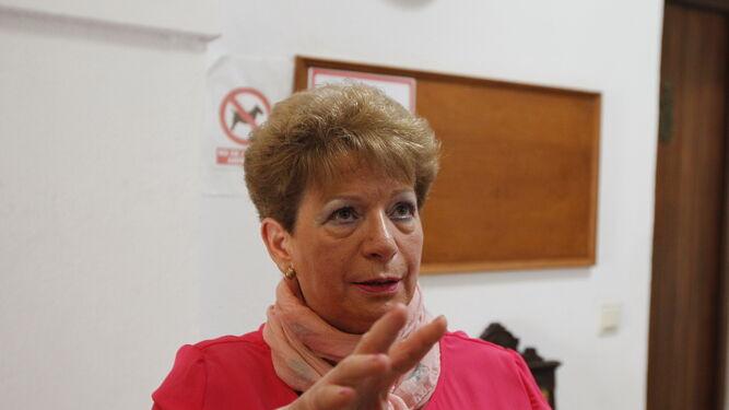 Ana Jiménez lleva 32 años dando clases.