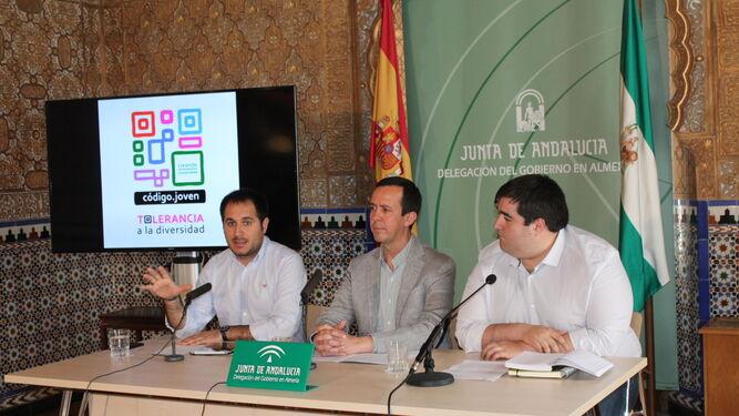 Presentación del programa Código Joven en la Delegación de Gobierno.