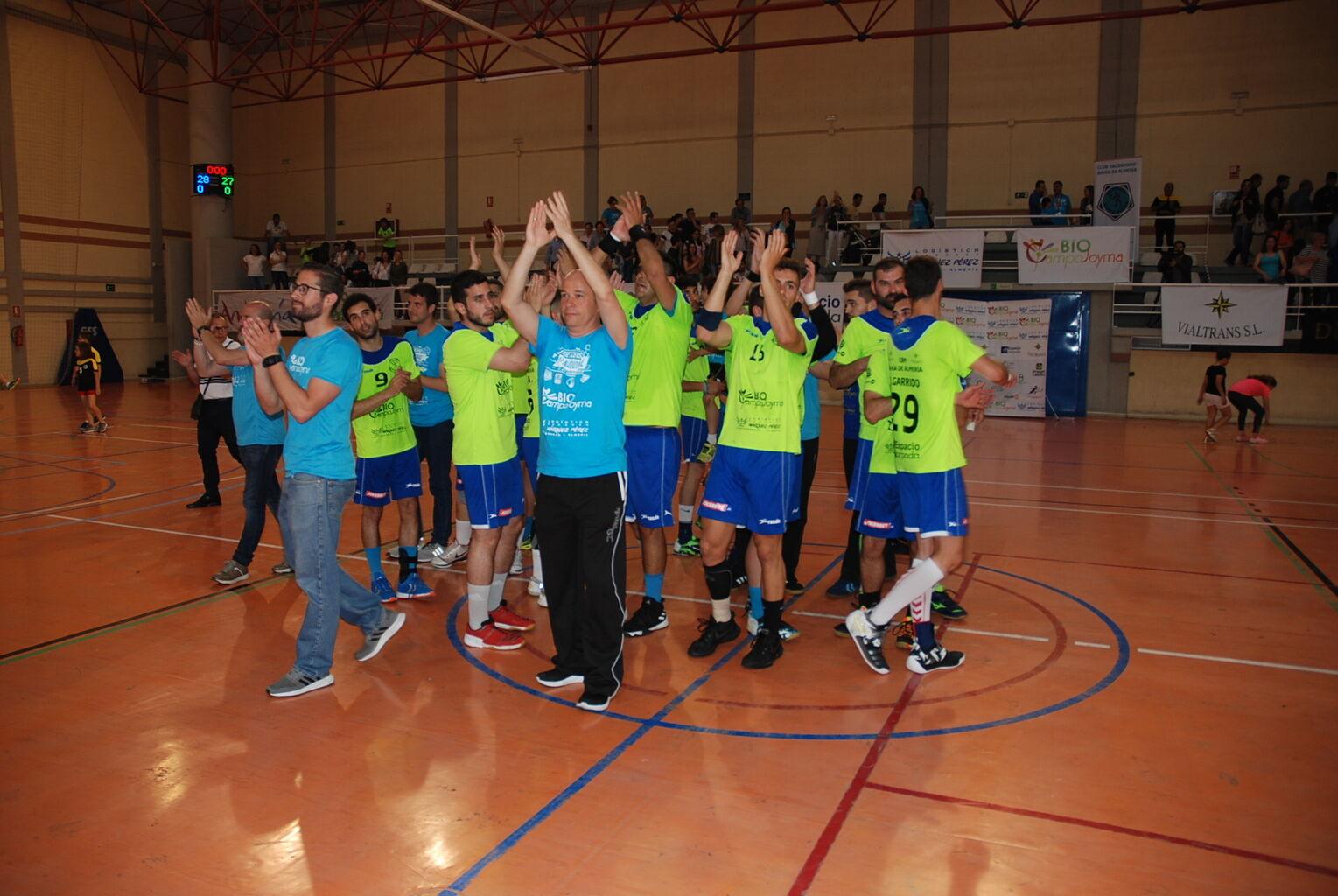 CBM Bahía de Almería sufre para derrotar a San Lorenzo