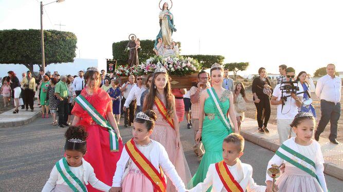 Los Cultos Religiosos Despiden Las Fiestas De Cortijos De Marin