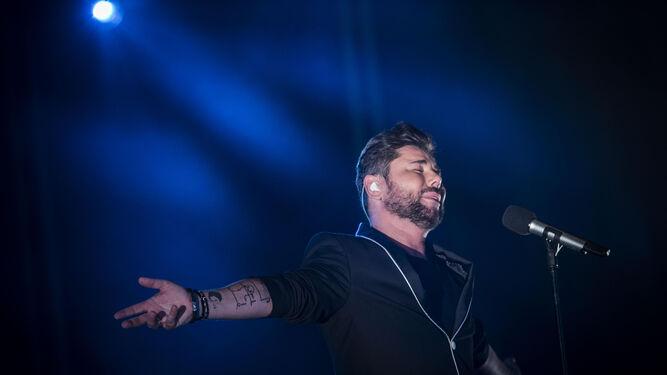 El Cantaor Miguel Poveda En Concert Music Festival Sancti Petri