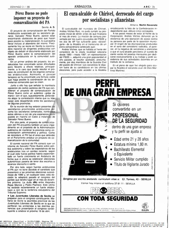 Vida y muerte del cura-alcalde de Chirivel