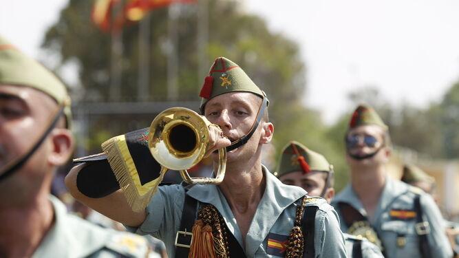 La Legión cumple 98 años conjugando tradición y los retos del futuro próximo