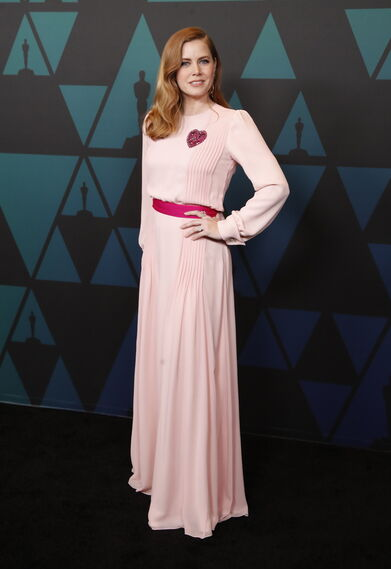 Amy Adams, de Schiaparelli.