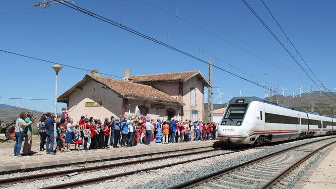 Adif licita la construcción de un gabinete de circulación en la estación de Doña María-Ocaña