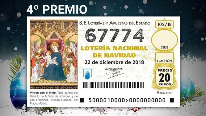 Premios del Sorteo de la Lotería de Navidad Décimos del ...