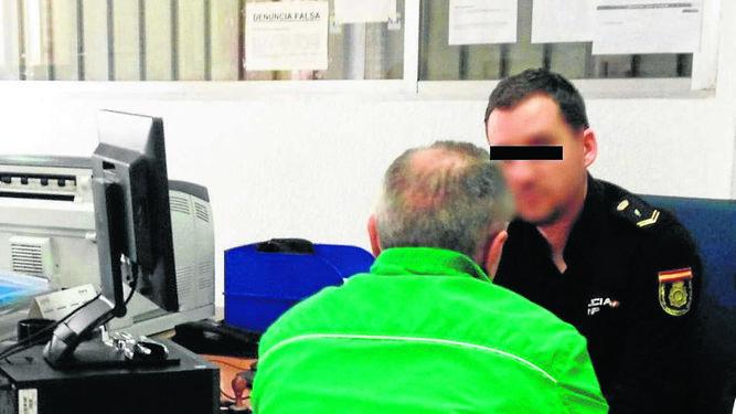 Resultado de imagen de denuncia falsa ante la policia