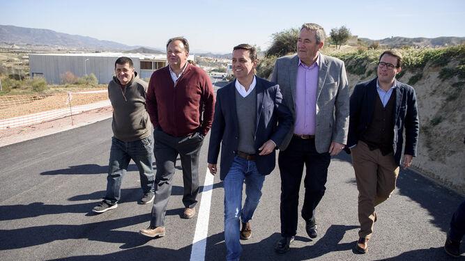 Los planes de la Diputación en Tíjola y Somontín