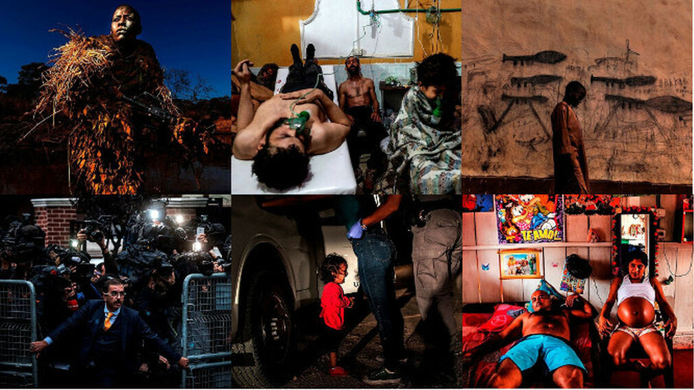 Las seis fotos finalistas del World Press Photo.