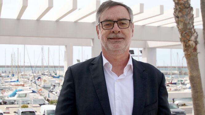 José Manuel Villegas en un encuentro con militantes de Ciudadanos en Almería