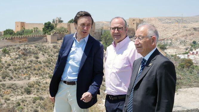 Rafael Hernando y Luis Rogelio Rodríguez-Comendador, fueron cabezas de lista del PP en las últimas generales